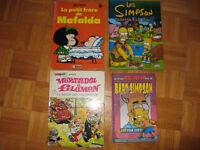 bandes dessinées de mortadel et philemon, mafalda, simpson City of Montréal Greater Montréal Preview