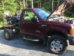 2007 Ford F 250 diesel parting out.