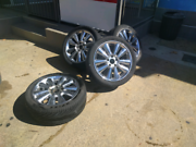 """17"""" Chrome Wheels Watson North Canberra Preview"""