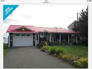 Ocean front home Cocagne NB $219,900