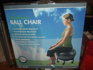 PURATHLETICS PUR ATHLETICS BALL CHAIR NEW IN BOX