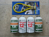 Mercury freon for a.c.in older cars
