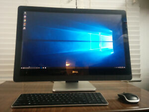 """Dell XPS One 27"""" All-in-one (Touch display, 2560 X 1440)"""