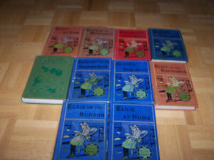 10 VINTAGE - THE ELSIE BOOKS by MARTHA FINLEY - UK