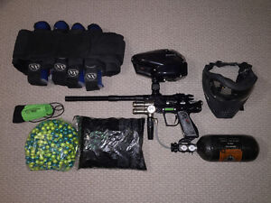 Bob Long Intimidator Classic Paintball Marker package