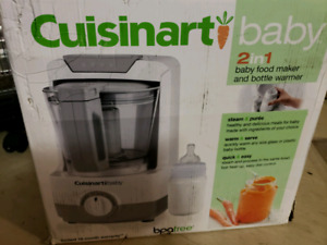 Cuisinart BFM-1000C 2-In-1 Baby Food Maker and Bottle Warmer
