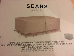 Patio furniture water/weather proof cover