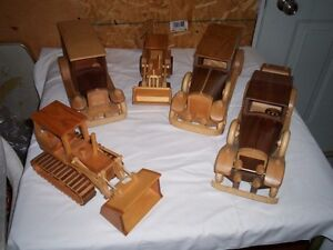 HOMEMADE WOODEN CRAFTS AND TOYS