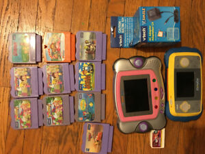 Vtech Mobigo Touch Learning System, V smile Pocket System.
