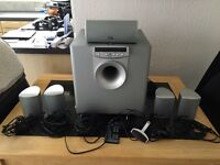 JBL 5.1 surround sound with remote control