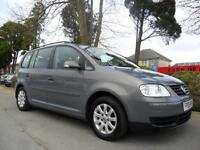 VOLKSWAGEN TOURAN 1.9 TDI 2005 7 SEATER FSH COMPLETE WITH NEW M.O.T HPI CLEAR