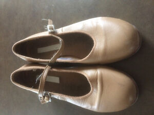 Used Bloch Tap and Block Jazz Dance Shoes
