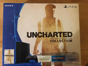 PS4 500GB HW Bundle Uncharted: The Nathan Drake Collection