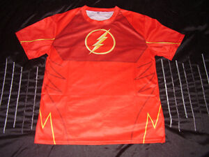 DC COMICS The FLASH Generic Men's Crewneck Compression Gatineau Ottawa / Gatineau Area image 1