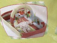 Activity mat, cot bumper and 0-6 sleeping bag - Mamas and Papas Gingerbread range