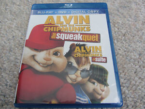 Alvin & The Chipmunks The Squeakquel - Blu-Ray/DVD Combo