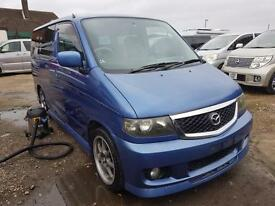 MAZDA BONGO, 2001, 2.0 LITRE, 81,800 MILES, AUTOMATIC IN CARIBBEAN BLUE