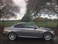 2009 58 BMW 3 SERIES 2.0 320D M SPORT 2D 175 BHP DIESEL
