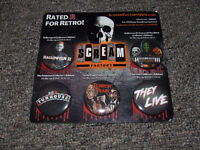 Scream Factory 5 Button Horror Movie Set - $10.00