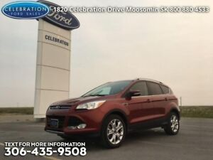 2014 Ford Escape Titanium  Low KMS, Certified!!