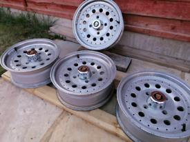 Retro Porsche / VW Centreline Alloy wheels