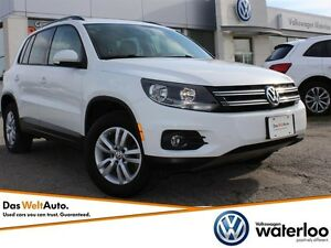 2015 Volkswagen Tiguan Trendline - AWD and WINTER READY!