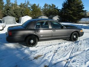 2010 Ford Crown Victoria Police Package Sedan