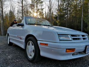 1991 dodge shadow es turbo convertible