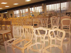 Liquidation Sale - Chair frames, benches, stools, legs, etc