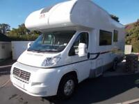 2013 Adria Sport 660 DP 6 Berth Motorhome 6 SeatbeltsGarage Fixed Rear Bed