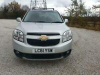 11 61 CHEVROLET ORLANDO 1.8 LT 5DR LOW 87K 1 PR KEEPER ROOF BARS 7 SEAT PX SWAPS
