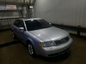 2001 Audi A6 with very Low Km's