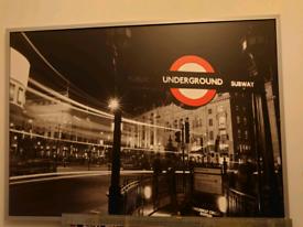 IKEA 100 X 140cm London picture