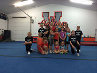 Cheerleading and Tumbling March Break Camp