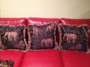 Coussins & Couverte ** Style Safari  ** Cushions & Throw * Blank