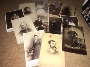 Antique Vintage 100+ Year Old Photo Card Lot Rare Photographs