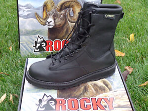 Men's Rocky Winter Leather Police Boots, Brand New!!!! REDUCED!! Kitchener / Waterloo Kitchener Area image 2
