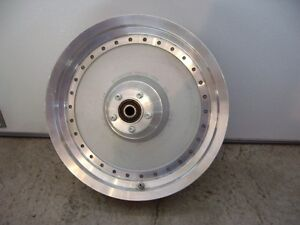 HARLEY FAT BOY CAST ALLOY FRONT RIM WITH BRAKE DISC