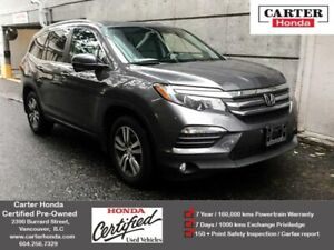 2016 Honda Pilot EX-L w/NAVI + CERTIFIED 7YR + YEAR-END CLEAROUT
