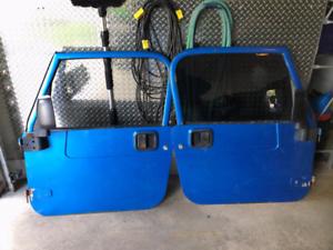 Portes  de Jeep TJ