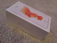 Brand New iPhone 6S Rose Gold 64GB   Unlocked   In Sealed Box