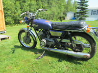 1972 Yamaha 350 R5 For parts