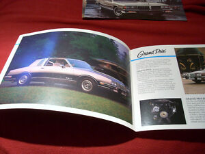 1984 Grand Prix sales folder Peterborough Peterborough Area image 2