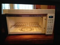 Over the range Microwave for sale