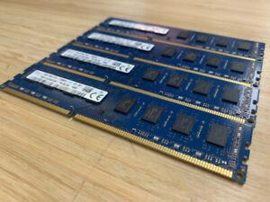 DDR3 4x8GB 32GB RAM MÉMOIRE PC TOUR HYNIX 12800/1667MHZ