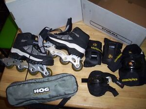 NEW roller blades detachable blades mens size 7 or ladies 9
