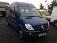 Mercedes-Benz SPRINTER 2010 year 513 CDI lwb 17 seater with wheelchair ramp