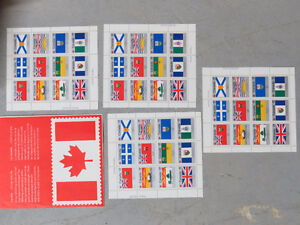 Canada Stamps 1979 Provincial Crest Stamps $10