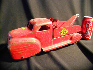 Antique Lincoln Toys Tow Truck