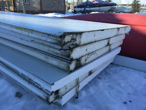 """Insulated Panels 11' x 3' 8"""""""